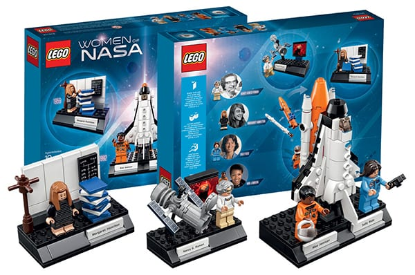Women of NASA Lego set • Women of Business - Earnest Labs