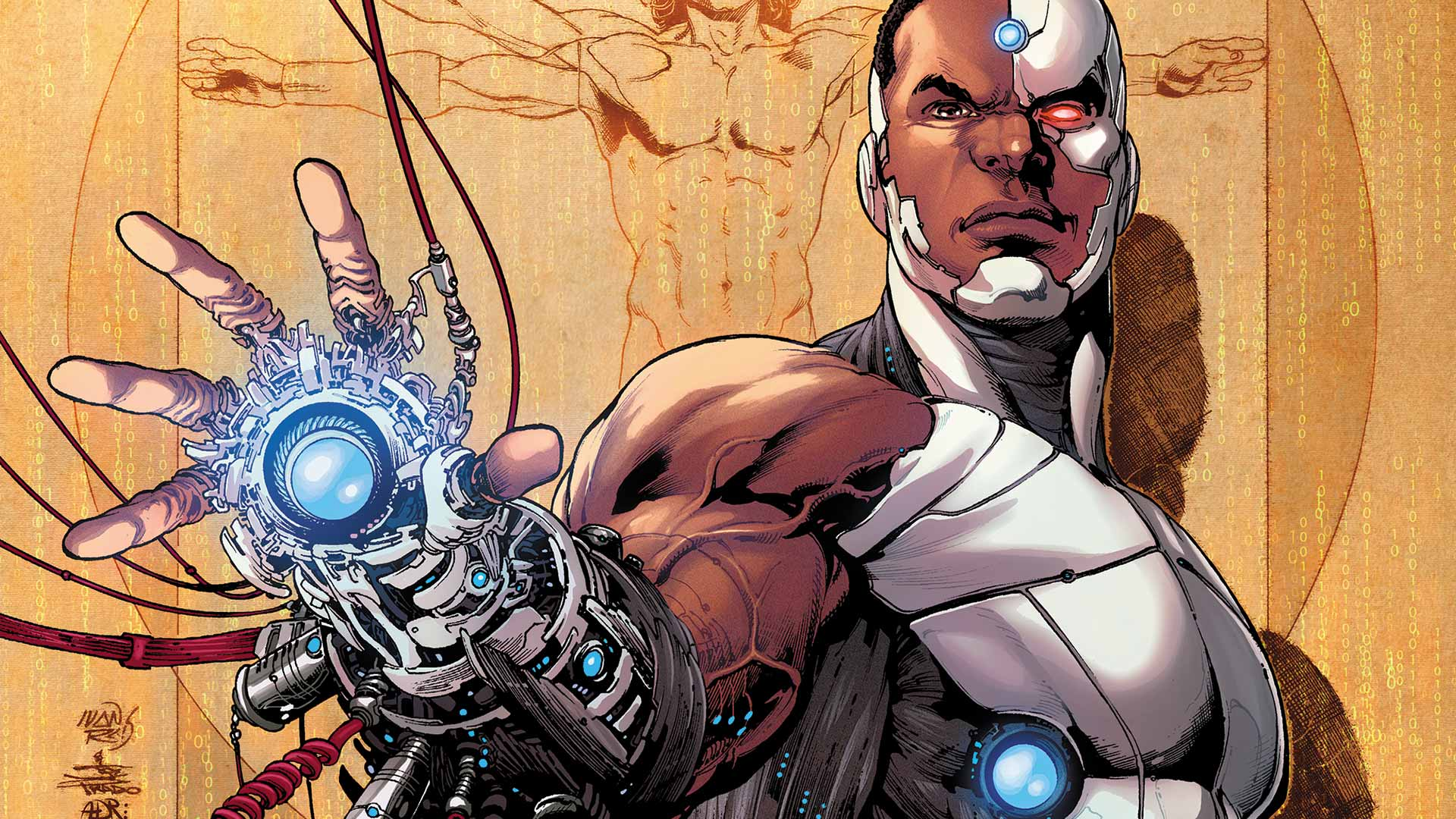 The character of 'Cyborg' in DC Comics