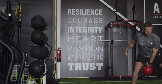 Guiding principles for Andrew Burton's business - ABC Gym - and his clients