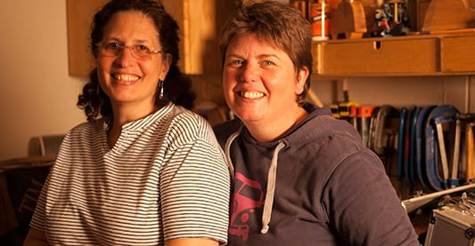 Netty and Marlene Reddish, owners of Shop Reddish